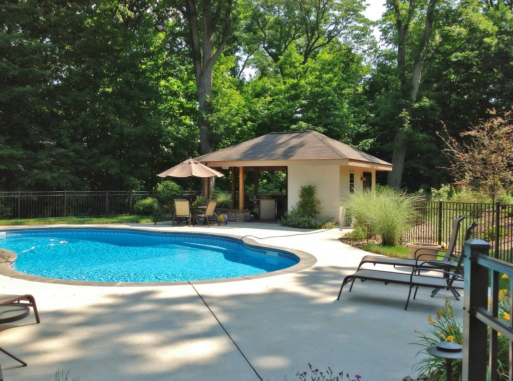 kaplan pool house